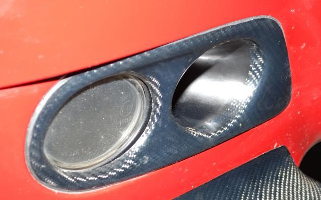 E46 M3 fog lamp cover, carbon 2