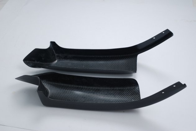F30 front splitter for M-T bumper, carbon 3