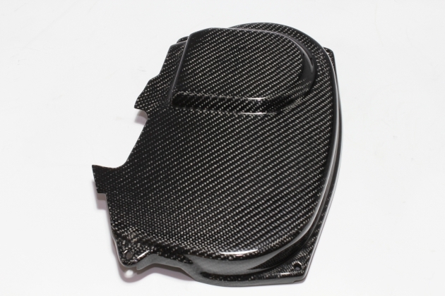 EVO 9 cam pulley cover, carbon 2